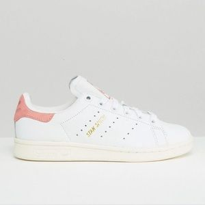 White & Pink Stan Smith Sneakers *SOLD OUT*